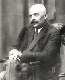 Photo taken in 1922 of George Gurdjieff who brought the Forth Way tradition to the West